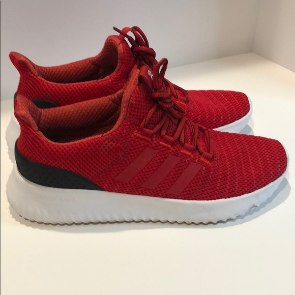 Adidas Men's Cloudfoam Ultimate Red size 8.5